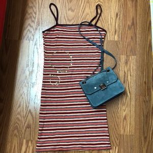 Topshop Stripe Bodycon Minidress- NWT